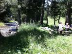 Picnic in the Pyreneés, July