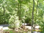 View from cabin