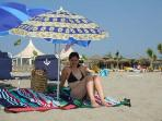 Stunning Saint Cyprien Beach, Crystal Clear Sea with Mountain Views.