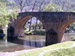 Bridge & Picnic area in Gois
