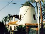 ...restored windmill ... now the admin centre
