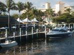 Walk to waterfront restaurants