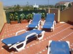 Private rooftop solarium