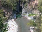 Alcantara Gorge from above and offers a unique view of great charm and beauty of the Gorge