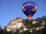 ballooning at rocamadour