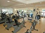 Gym at the Leisure Club