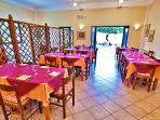 Internal restaurant