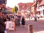The hustle and bustle of Historic Stratford Upon Avon