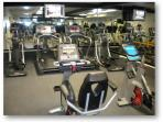 Workout facility in tower 1