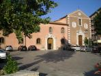 Piazza Monastero with Church / Town Hall   Smmer  2013