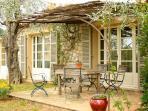 Enjoy alfresco dining on the terrace