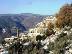 Vellano in January with its warm sun and snowy days