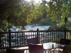 Resstaurant area on the Sabie River