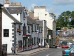 Melrose Town Centre - just 15 minutes walk from the Cottage