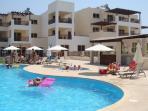 Armonia Pool Area. Modern & spacious.