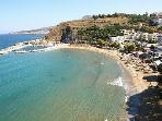 kalyves beach-5km from the villas