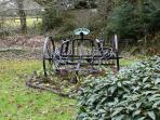 A Harrow in the grounds
