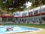 Private sports club near beach