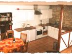 La Forge kitchen and dining room