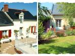 La Grange sleeps 6 in 3 en suite bedrooms. La Forge sleeps 4. Large heated pool.