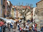 Collioure: Town and the shops...