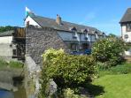 llety maes ffynnon idyllic setting ,but only 4 minutes walk from the town square
