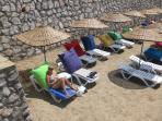 The community private beach