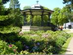 Century old bandstand, Buxton beauty in the Pavillion gardens.