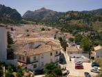 The village of Grazelema, a short drive from Arcos