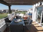 The Terrace for dining, relaxing, watching golf or enjoying the bubbles!