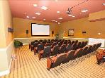 Movie theatre in the club house