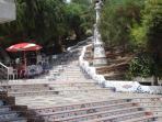 El Hornillo steps