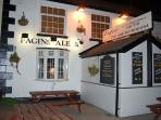 Fagin's Ale and Chop House next door!