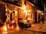 Enter Aladdin's Cave and shop for colourful treasures in Granada's vibrant Moroccan Souk.