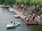 Cajarc river activities only 10 mins away to the West
