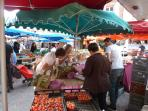 Gaillac market, Place u Griffoul