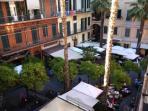 Piazza Bresca e Piazza Sardi proprio sotto casa