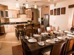 Dining room adjoin to the kitchen