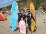Surfs up at Saunton