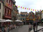 the Historic town on Pontivy