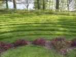 Labyrinth in Aistear Park, Mountshannon village