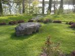 Labyrinth in Aistear Park, Mountshannon village.