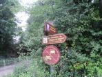 1000 km of footpaths in the Montmorillon area