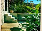 La Spilla teak terrace
