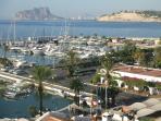Moraira's stunning marina.