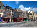 Grassmarket Shops and bars...just outside