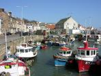 Pittenweem Harbour you pass here on the famous coastal walk