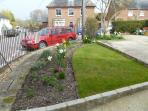 Front garden and off road parking