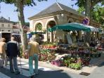Lalinde Market.
