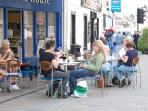 Keswick market town relax with a coffee